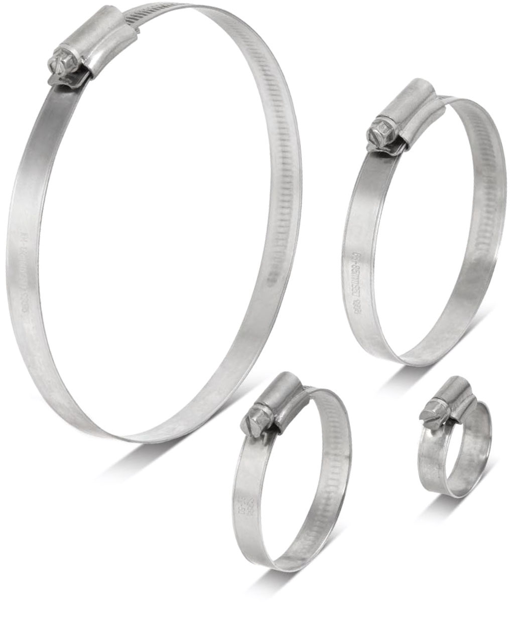 Swedish-Style Hose Clamps